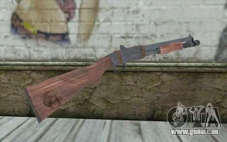 Shotgun from Primal Carnage v1 pour GTA San Andreas deuxième écran