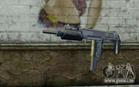 Uzi from Beta Version pour GTA San Andreas