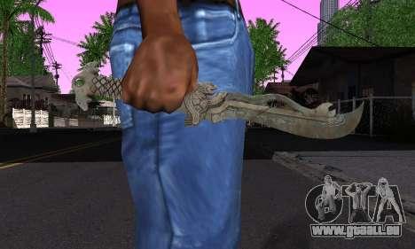 La même lame (FarCry 3) pour GTA San Andreas troisième écran