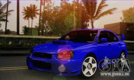 Subaru Impreza pour GTA San Andreas