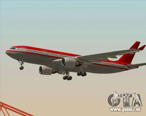 Airbus A330-200 LTU International pour GTA San Andreas vue de côté