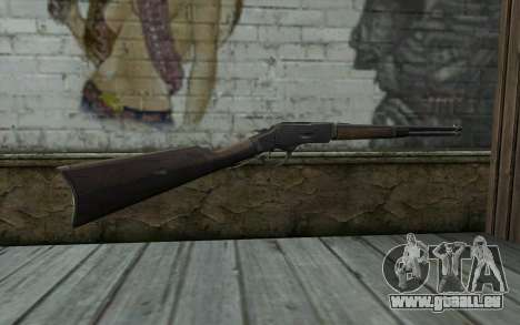 Winchester 1873 v3 pour GTA San Andreas deuxième écran
