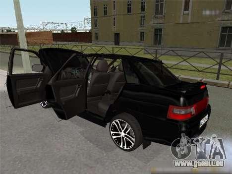 CES 2110 XN pour GTA San Andreas sur la vue arrière gauche