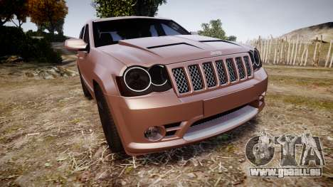 Jeep Grand Cherokee SRT8 rim lights pour GTA 4