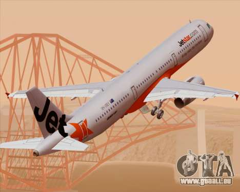 Airbus A321-200 Jetstar Airways für GTA San Andreas