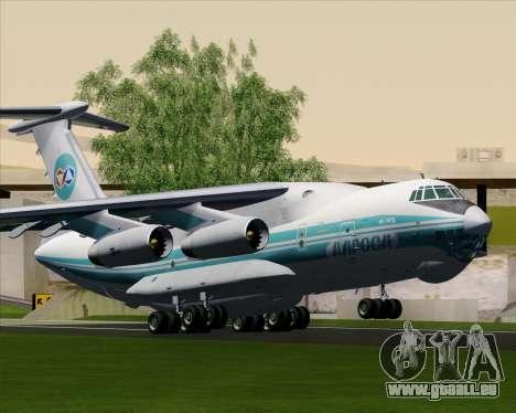 IL-76TD ALROSA für GTA San Andreas Rückansicht