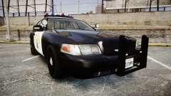 Ford Crown Victoria CHP CVPI Vision [ELS] für GTA 4