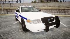 Ford Crown Victoria F.B.I. Police [ELS] pour GTA 4