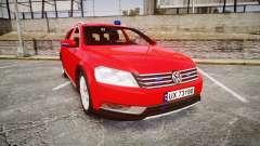 Volkswagen Passat 2014 Unmarked Police