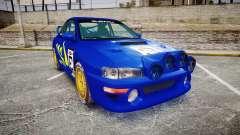 Subaru Impreza WRC 1998 Rally v3.0 Yellow