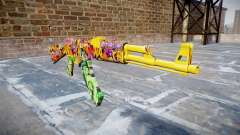 АК-47 graffiti-camo