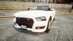 GTA V Bravado Buffalo LS Sheriff White [ELS] Sli