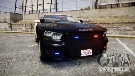 GTA V Bravado Buffalo LS Police [ELS] Slicktop für GTA 4