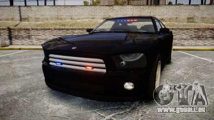 GTA V Bravado FIB Buffalo [ELS] pour GTA 4
