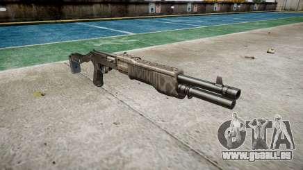 Ружье Franchi SPAS-12 Kryptek Typhon für GTA 4