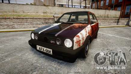 Volkswagen Golf GTI Mk2 Budget Street Cred pour GTA 4