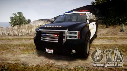GTA V Declasse Granger LSS Black [ELS] für GTA 4