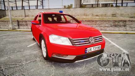 Volkswagen Passat 2014 Unmarked Police für GTA 4