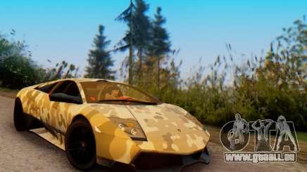 Lamborghini Murcielago Camo SV für GTA San Andreas