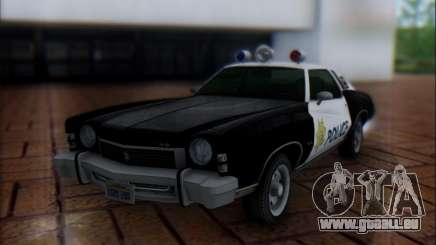Chevrolet Monte Carlo 1973 Police pour GTA San Andreas