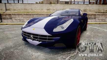 Ferrari FF 2012 Pininfarina Blue für GTA 4