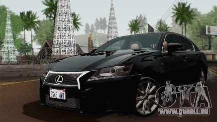 Lexus GS350 F Sport 2013 für GTA San Andreas