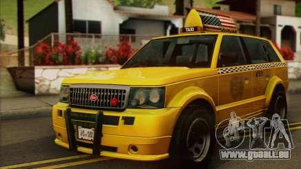 VAPID Huntley Taxi (Saints Row 4 Style) pour GTA San Andreas