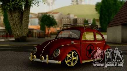 Volkswagen Fusca 1976 Rust Camber für GTA San Andreas