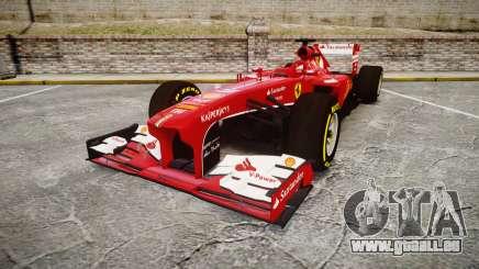 Ferrari F138 v2.0 [RIV] Alonso TSD für GTA 4