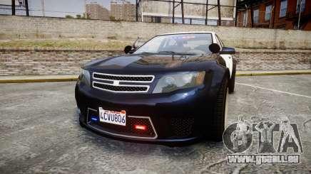 GTA V Cheval Fugitive LS Police [ELS] Slicktop für GTA 4