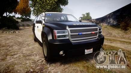 GTA V Declasse Granger LSS Black [ELS] Slicktop für GTA 4