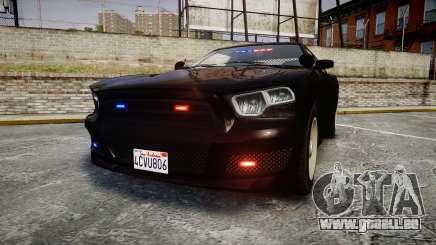 GTA V Bravado Buffalo Unmarked [ELS] Slicktop pour GTA 4