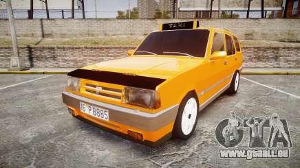 Tofas Kartal SLX Taxi für GTA 4