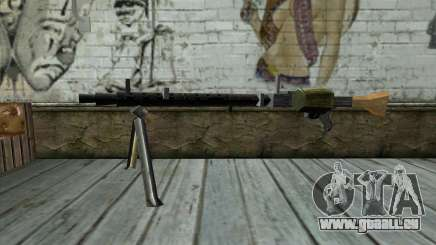 MG-34 from Day of Defeat für GTA San Andreas