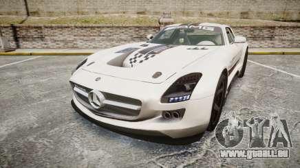 Mercedes-Benz SLS AMG GT-3 low für GTA 4