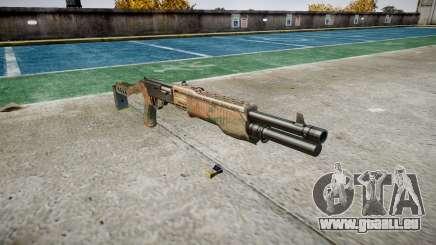 Ружье Franchi SPAS-12 Dschungel für GTA 4