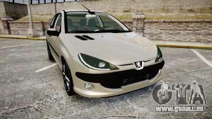 Peugeot 206 XS 1999 pour GTA 4