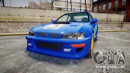 Subaru Impreza WRC 1998 World Rally für GTA 4