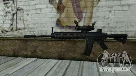 HK416 (Bump mapping) v2 für GTA San Andreas