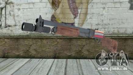 Shotgun from Primal Carnage v2 für GTA San Andreas