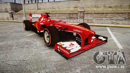 Ferrari F138 v2.0 [RIV] Massa THD pour GTA 4