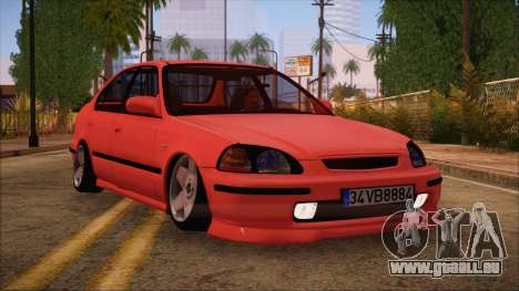 Honda Civic 34 VB 8884 pour GTA San Andreas