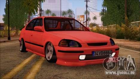 Honda Civic 34 VB 8884 für GTA San Andreas