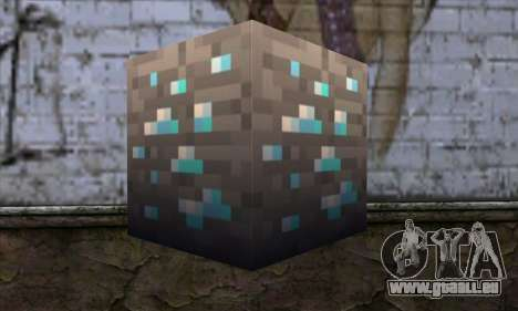 Block (Minecraft) v1 für GTA San Andreas zweiten Screenshot