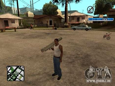C-HUD by SampHack v.17 pour GTA San Andreas