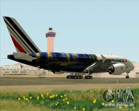 Airbus A380-800 Air France für GTA San Andreas Innenansicht