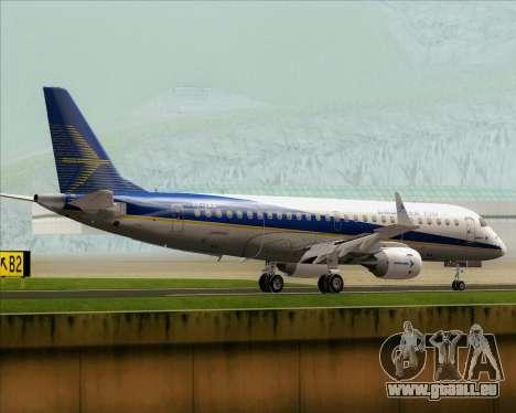 Embraer E-190-200LR House Livery pour GTA San Andreas vue de droite