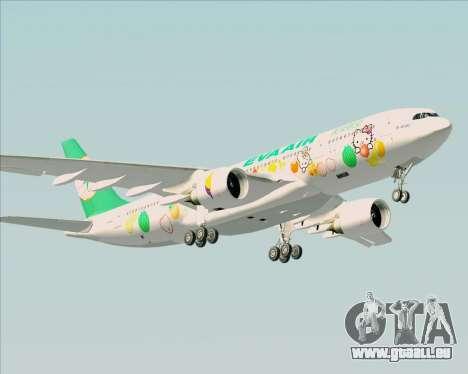 Airbus A330-200 EVA Air (Hello Kitty) pour GTA San Andreas vue de droite