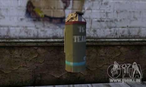 Smoke Grenade from GTA 5 für GTA San Andreas