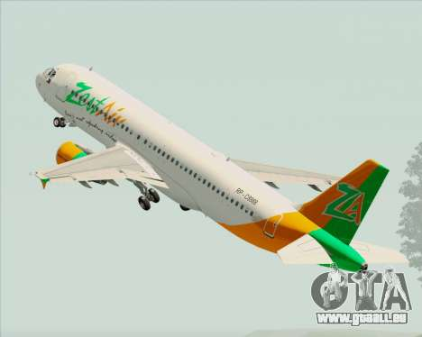 Airbus A320-200 Zest Air pour GTA San Andreas